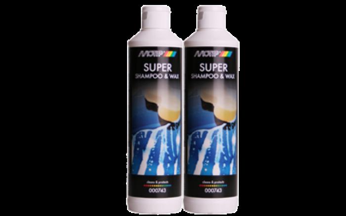 Motip Super Shampoo & Wax 500ml