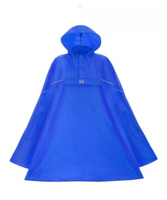 Poncho lichtgewicht Willex Blauw