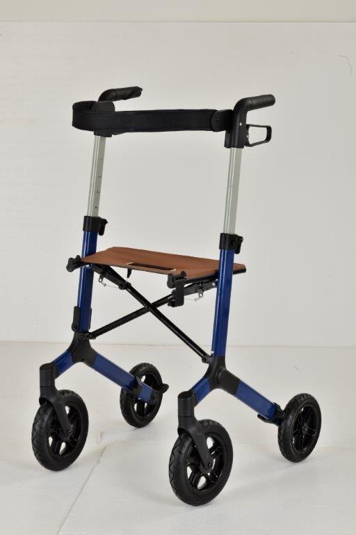 Roll'n Go rollator Trendy Petrol Blauw