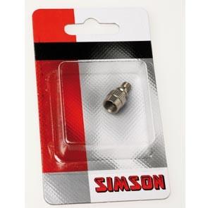 Simson verloopnippel autoventiel