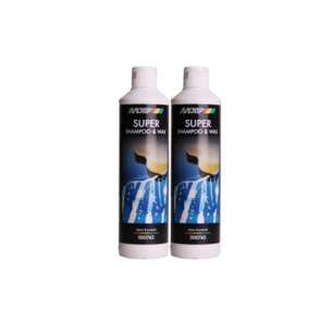 Motip Super Shampoo & Wax 500ml