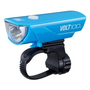 Koplamp Cateye Volt 100 / HL-EL150RC USB Led Blauw