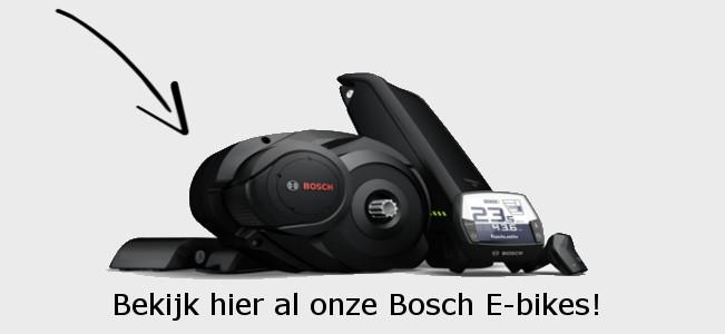 Al onze elektrische fietsen met Bosch middenmotor!